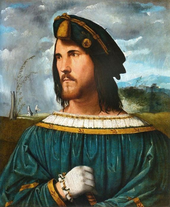 Портрет Цезаря Борджиа кисти Альтобелло Мелоне.